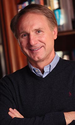 Dan Brown earned a  million dollar salary, leaving the net worth at 120 million in 2017